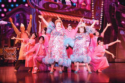 Cast of Hairspray the Musical