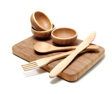 Bamboo kitchenware