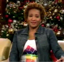 Wanda Sykes discussing same-sex marriage on the 'Tonight Show'