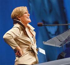 Suze Orman at 2008 HRC Dinner