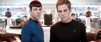 Star Trek: Quinto and Pine