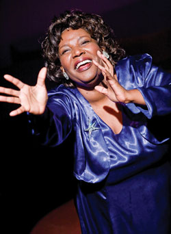 Bernardine Mitchell as Mahalia-Jackson