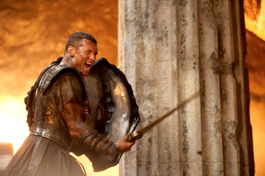 Sam Worthington in ''Clash of the Titans''
