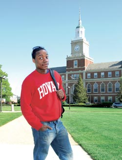 Amari Ice of Howard University