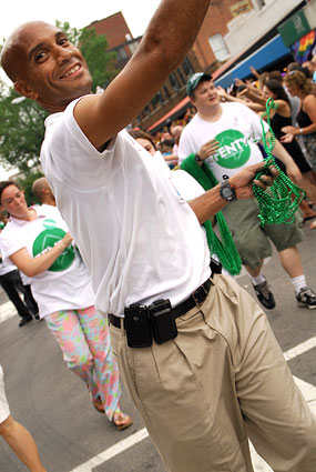 Adrian Fenty at 2010 Capital Pride Parade