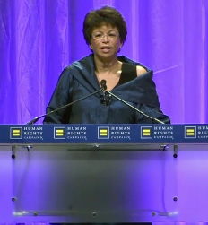 Valerie Jarrett at 2010 HRC National Dinner