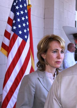 Giffords at previous congress on your corner