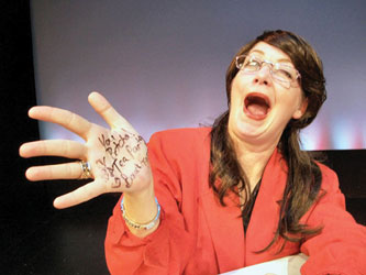 Christine Thompson as Sarah Palin