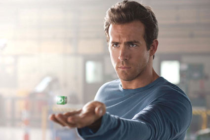 Ryan Reynolds in 'Green Lantern'