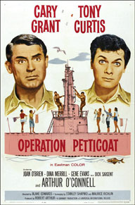 'Operation Petticoat' poster
