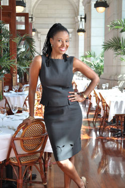 B. Smith photographed at her Union Station restaurant, July 14, 2011