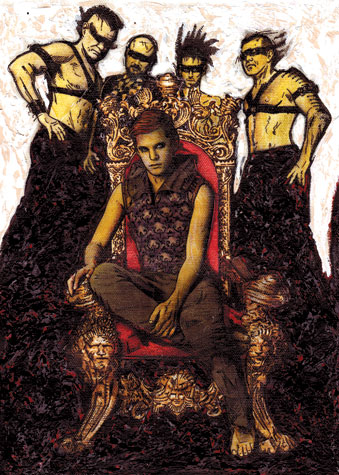 heir to the throne by Anthony Dortch
