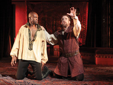 May I have some Moor, please? Othello's Odera and Peakes