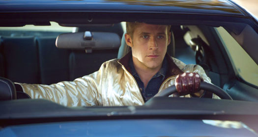 Ryan Gosling in ''Drive''