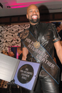Doug Pamplin: Mr Mid-Atlantic Leather 2011