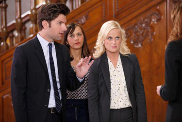 ''Parks and Recreation'' stars Adam Scott, Rashida Jones and Amy Poehler