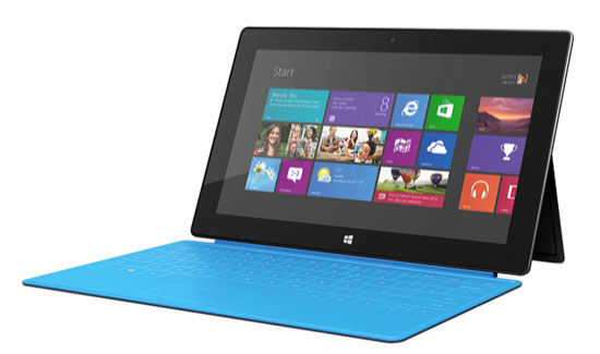 Surface with cyan cover