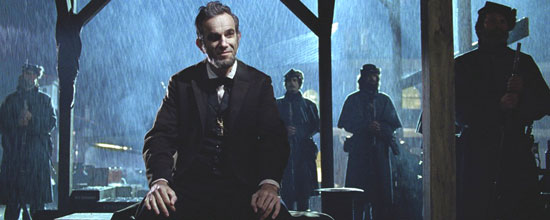 Daniel Day Lewis as ''Lincoln''