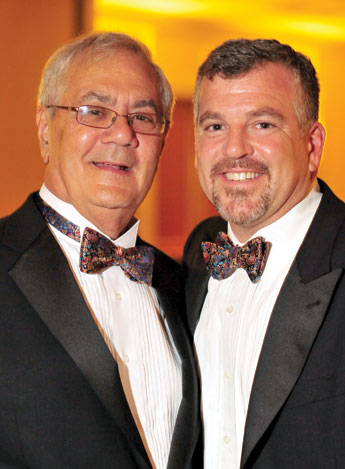 Barney Frank and his new husband, Jim