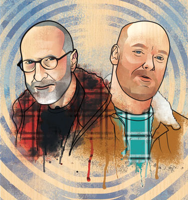 Bob Mould and Rich Morel