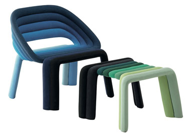 Nuance chair by Luca Nichetto