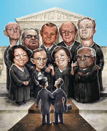 Justices of The U.S. Supreme Court