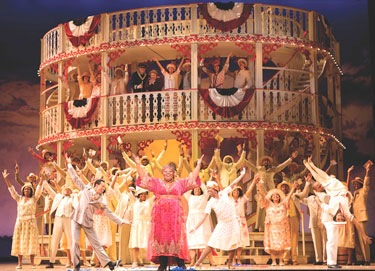Angela Renee Simpson and the company of ''Show Boat''