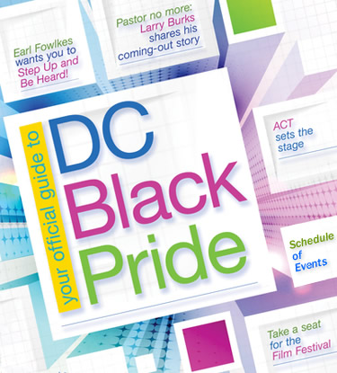 DC Black Pride Menu