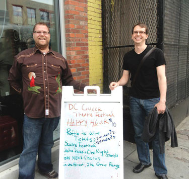DC Queer Theatre Festival: Matt Ripa and Alan Balch