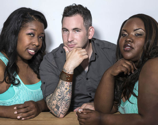 Eric Himan and the Soultre Singers: Tylisha Oliver, Eric Himan and Tina Phillips