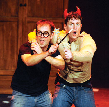 Potted Potter: Jeff Turner and Daniel Clarkson