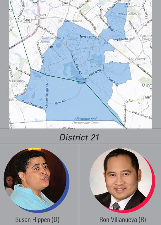 District 21: Hippen, Villanueva