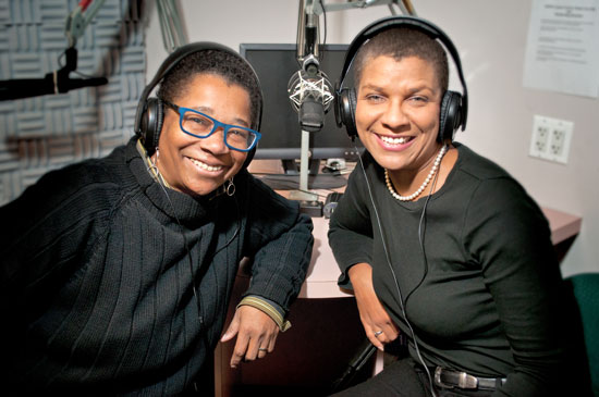 Sheila Alexander-Reid and Dr. Nicole Cutts
