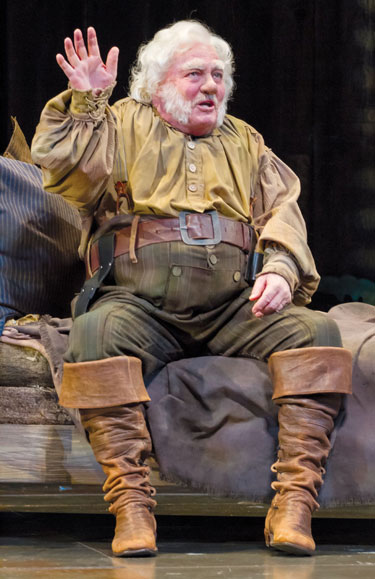 Stacey Keach in Henry IV