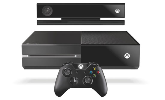 Xbox one system controller and kinect