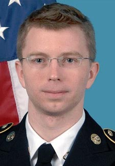 Chelsea Manning as Army private Bradley Manning
