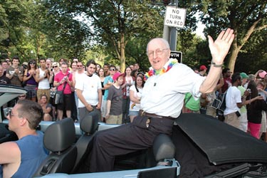 Frank Kameny in the 2009 Capital Pride Parade