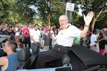 Frank Kameny in the 2009 Capital Pride Parade