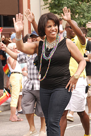 Mayor Stephanie Rawlings-Blake in 2011