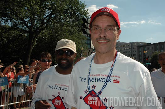 Mayor Vincent Gray at the 2012 Capital Pride Parade