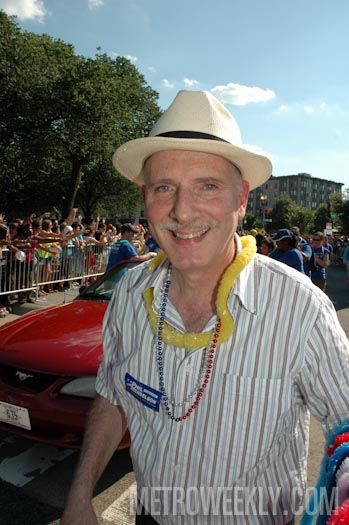 Phil Mendelson at D.C.'s 2012 Capital Pride Parade