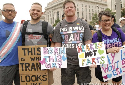 National Trans Visibility March #1
