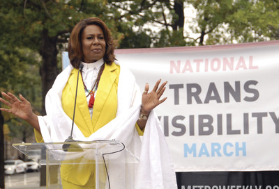 National Trans Visibility March #23