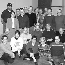 Members of AGLA ata recent group meeting
