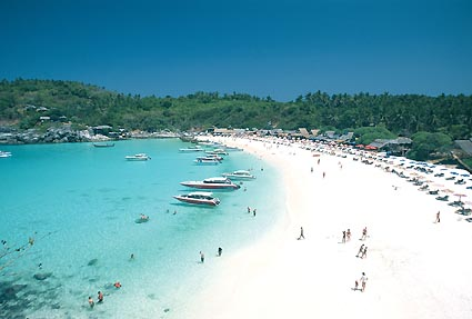 Balmy weather: One of Patong's many beaches