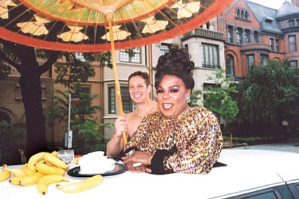 Ella Fitzgerald at the 2003 Capital Pride Parade Photo by Michael Wichita