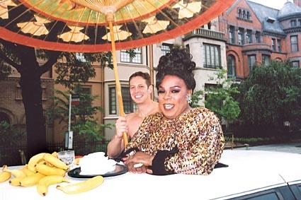Ella Fitzgerald at the 2003 Capital Pride Parade Photo by Michael Wichita