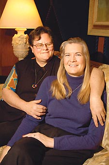Kathleen DeBold and Barbara Johnson