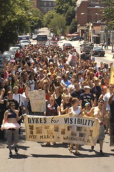 The 2004 Dyke March Photo by Ward Morrison