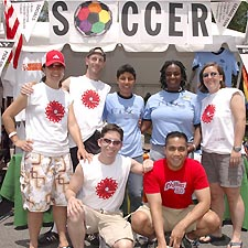 Federal Triangles members at the 20005 Capital Pride festival Photo by Todd Franson